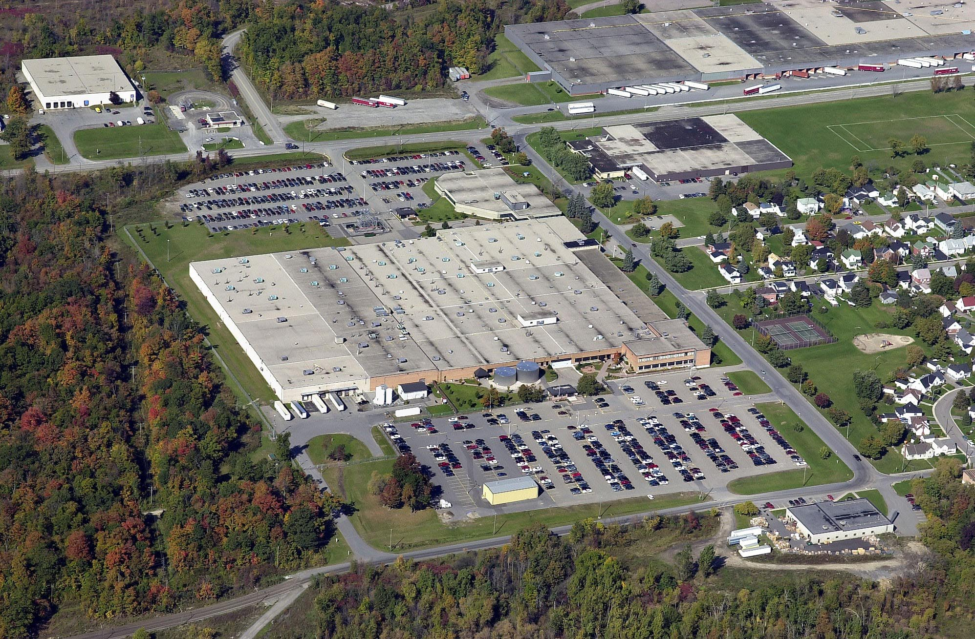 Eastern warehouse Apex aerial view