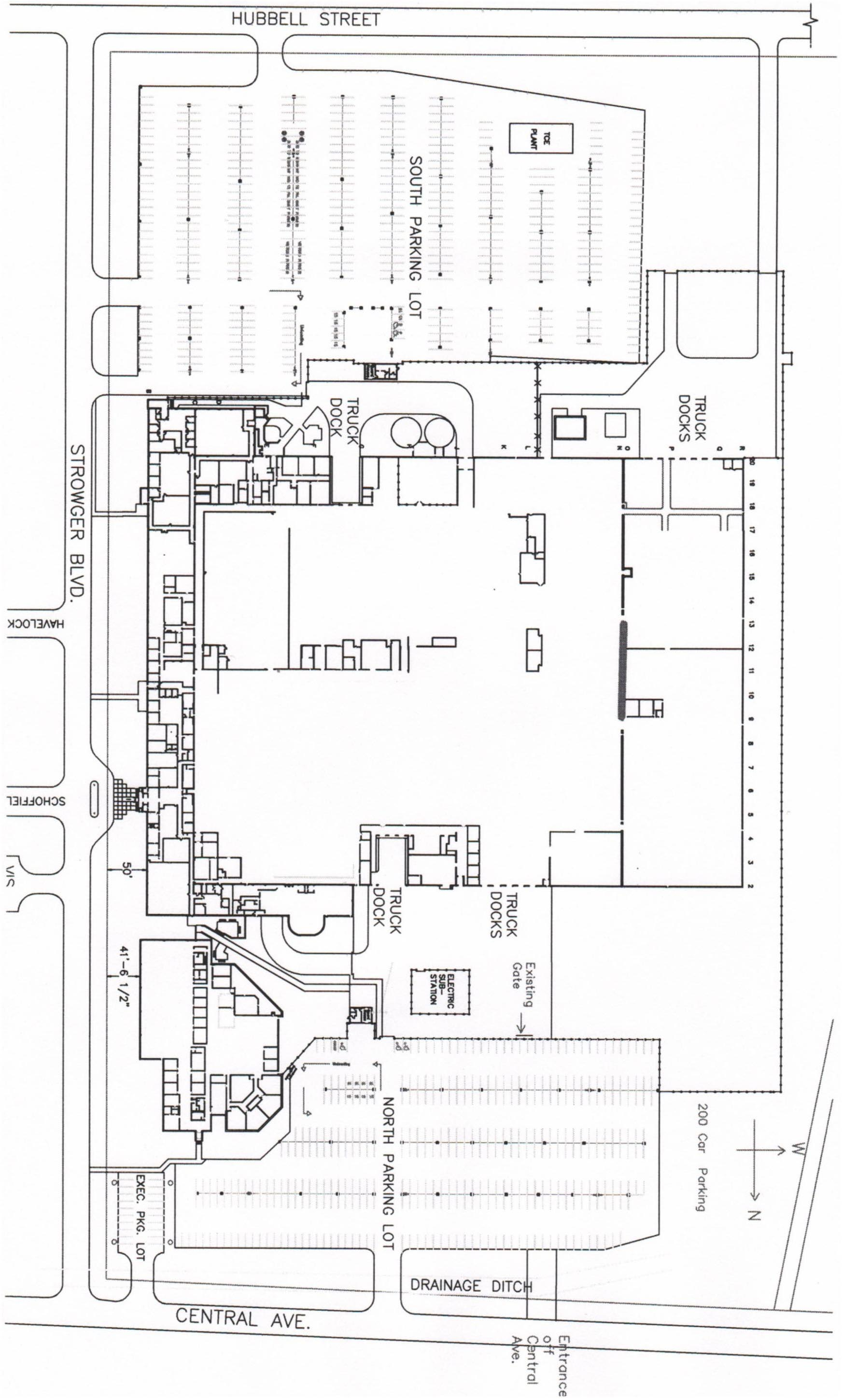 eastern ontario overall warehouse space diagram