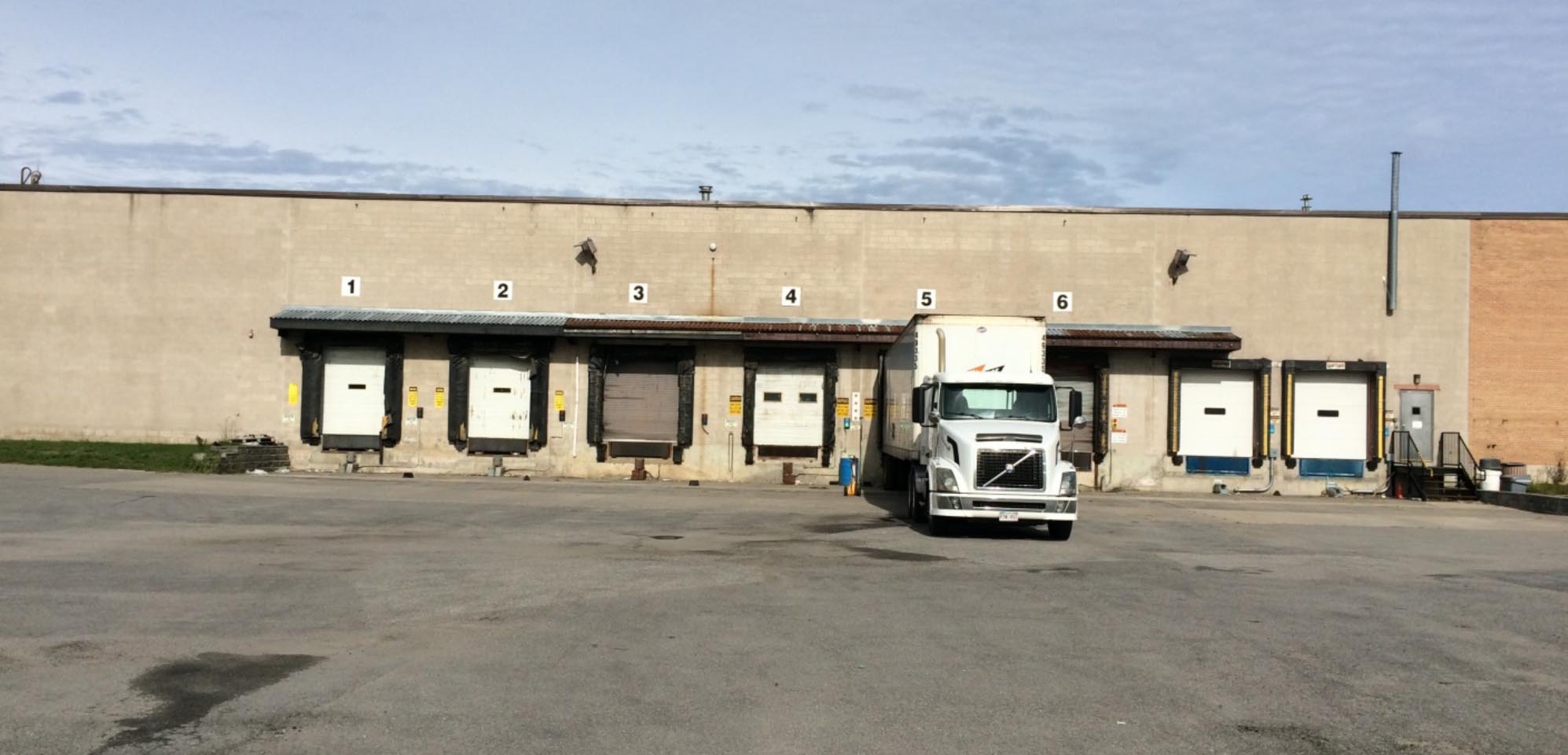 eastern warehouse docking bays