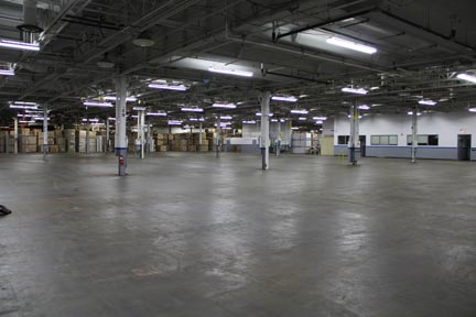 eastern ontario warehouse open space